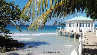 Las Galeras plage Samaná © Blog Je Suis ce que Je Suis-libre © Catherine Pizzol