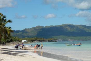 Playa grande Las Galeras Samaná  © Blog Je Suis ce que Je Suis-libre  © Catherine Pizzol