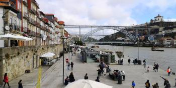 A la découverte de la ville de Porto Quai de Ribeira Porto  © Je Suis ce que Je Suis-libre