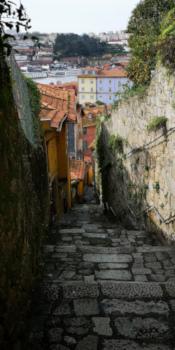 A la découverte de la ville de Porto Escaliers quartier historique Porto  Je Suis ce que Je Suis-libre