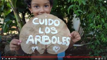 j'aime mon arbre- amo mi arbol  Je Suis ce que Je Suis-libre Blog  © Gabriella Balsells
